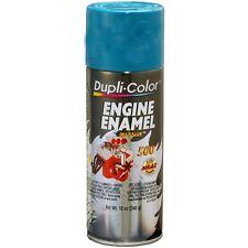 Duplicolor DE1619 Engine Enamel Paint, Chrysler Green, 12 Oz Can