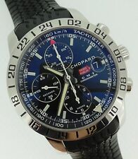 Chopard Mille Miglia Automatic Chronograph GMT 42mm Black Dial Rubber 8992