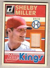 2014 Donruss Bat Kings Studio Series - SHELBY MILLER - Cardinals Braves - #04/25