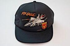 Vintage F-15 Eagle Trucker Hat Snapback