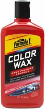Color Car Wax Paint Protection High Gloss Finish Long Lasting Shine 16Fl Oz Red