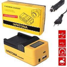 Patona USB Ladegerät  LCD für EN-EL14 Nikon D3200 D5100 D5200 P7000 P7800