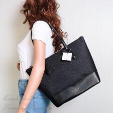 NWT Kate Spade New York Lola Glitter Tote Shoulder Bag in Black