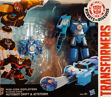 HASBRO® B4718 Transformers RID Mini-Con Deployers Blizzard Drift & Jetstorm
