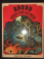 20000 Lieues sous les Mers - Jules Verne - Trucaud  dessins Gasquet - 1975