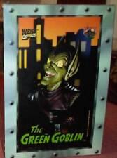 "Marvel comics Green goblin 10"" bust figure 3D legends boxed spiderman"