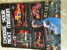 m17a8 ephemera 1990s advert lego technic choose your next mission