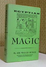 OCCULT: EGYPTIAN MAGIC, E. A. Wallace Budge, Egypt, Illustrated    Book