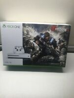 Microsoft Xbox One S Gears Of War 4 1TB Console Very Good, 1 GAME INCLUDED.