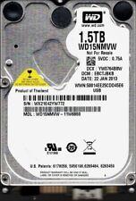 Western Digital WD15NMVW-11W68S0 1.5TB USB 3.0 DCM: EBCTJBKB