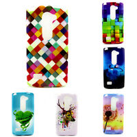 New Rubber Soft Silicone Protective Back Case Cover Skin Gel TPU For LG C70