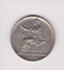 ITALIA - 1928 R 1 Lira/Lire-High Grade-data chiave. molto da collezione.J.20