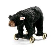 Black Bear on Wheels by Steiff - EAN 034428
