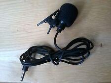 Clip en micrófono con 3.5mm Jack y Espuma Parabrisas (totalmente Nuevo)