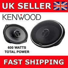 "Kenwood KFC-X694 Car Van Shelf Speakers 6x9"" 2 Way Coaxial 600W Total Power NEW"