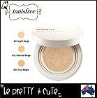 INNISFREE WATER GLOW CUSHION BB Cream #13 Light #21 Natural #23 True Beige AUS