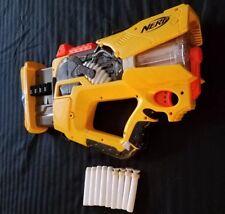 NERF N-strike Firefly Rev-8 Light Up Blaster w/ Glow Darts