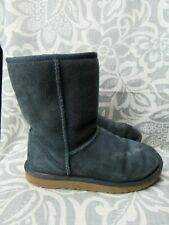 UGG Australia Women's 5825 Classic Short Blue Sheepskin Boots Size 7 / 38