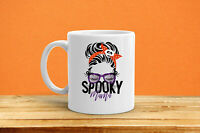 Halloween Coffee Mug Spooky Mama Witch Coffee Mug Creepy Mug Halloween Mugs