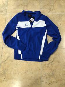 Nike Jordan Team Woven Long Sleeve Pullover Jacket Royal Blue Men's  CD2218-493