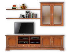 TV-Lowboard + Hängevitrine + Bretter direkt vom Hersteller aus Italien NEU