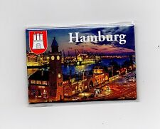 Magnet HAMBURG Landungsbrücken Kühlschrankmagnet Pinnwand Souvenir NEU NT031