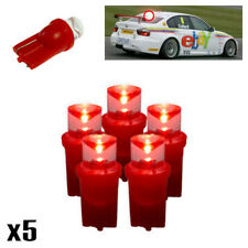 5x Ford Focus MK1 1.6 501 W5W LED Red 3rd Brake Lights Upgrade Power Rear Lamps