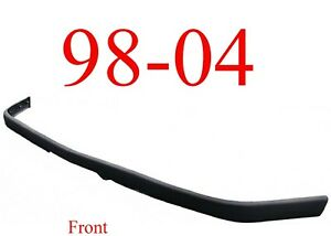 98 04 Chevy S10 Front Bumper Impact Strip With LS, 98 05 S10 Blazer