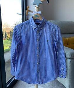 Ralph Lauren Pinstriped Shirt Age14years