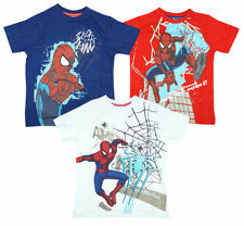 T-shirts et hauts rouges en 8 ans pour garçon de 2 à 16 ans en 100% coton
