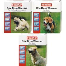 More details for beaphar one dose wormer treatment tablets for puppies small, medium & large dogs