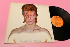 DAVID BOWIE LP ALADDIN SANE FRANCE 1973 NM GATEFOLD COVER ORANGE LABEL