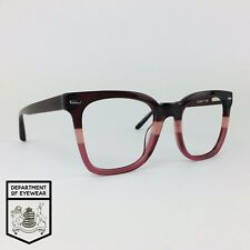 OSIRIS eyeglasses TRANSLUCENT BURGUNDY SQUARE glasses frame MOD:  30769366