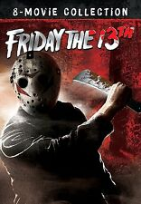 Friday the 13th The Ultimate UNCUT 8-Movie Collection (Jason) BRAND NEW DVD SET