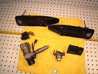 Mercedes Early C126 SEC ignition /Glove B/Door Handles/Trunk OEM 1 Locks & 1 Key