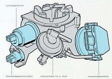 Leerlaufsteller leerlaugregler vw golf Jetta II 2 Audi 80 PN 1600 vergaser pierb