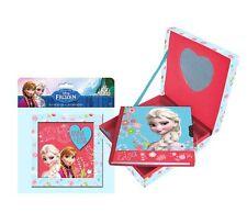 Disney Frozen Die Eiskönigin Schmuckkasten mit Spiegel + Tagebuch Notizbuch SET