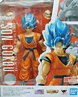 Son Goku Gokou Super Saiyan God Dragon Ball Z - Bandai SH Figuarts 18cm - Nuova