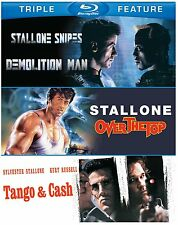 OVER THE TOP / DEMOLITION MAN / TANGO & CASH  -  Blu Ray - Sealed Region free