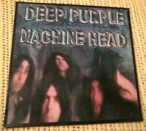 DEEP PURPLE MACHINE HEAD VINYL LP 1972 ORIGINAL AUSTRALIAN STEREO PRESS TPSA7504