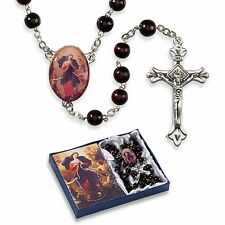 Mary, Untier of Knots Wood Rosary (VG031) NEW Gift Boxed (Undoer of Knots)