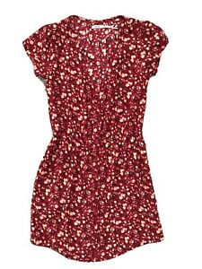 Kimchi Blue Women's Dress Red Flowers Size Small