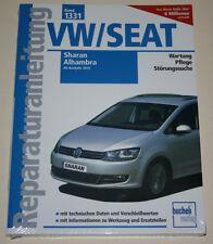 Reparaturanleitung VW Sharan II + Seat Alhambra II ab Baujahr 2010 Bucheli