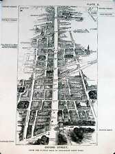 From Oxford Street from Marble Arch to Tott Crt Rd, London in 1887, Herbert Fry
