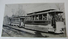 USA389 CHICAGO COMPRESSED AIR MOTOR Co - TROLLEY No105 PHOTO - Illinois USA