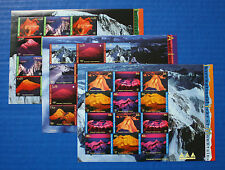 United Nations - 2002 International Year of Mountains MNH sheet set