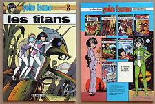 LELOUP - YOKO TSUNO T8: Les Titans EO