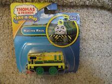 Thomas & Friends Take Along Die Cast Metal Vehicle Racing Raul Portable Railway