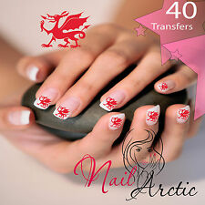 40 x Nail Art Water Transfers Stickers Wraps Decals German Group