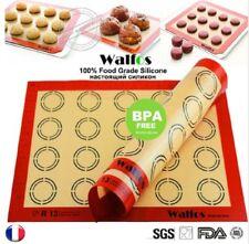 Tapis de cuisson silicone réutilisable anti adhésif pâtisserie macaron 42x30 mm